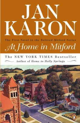 a report on jan karons at home in mitford The first novel in jan karons bestselling and beloved mitford series--now available in a new 20th anniversary  at home in mitford,  report this comment .